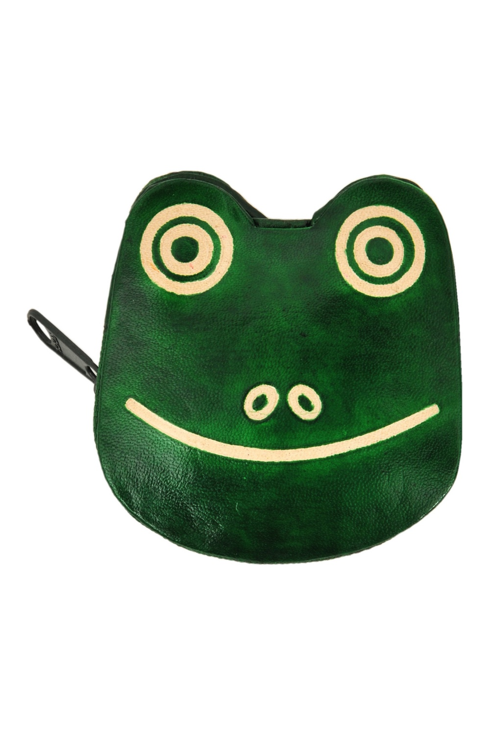 Leather purse FROG