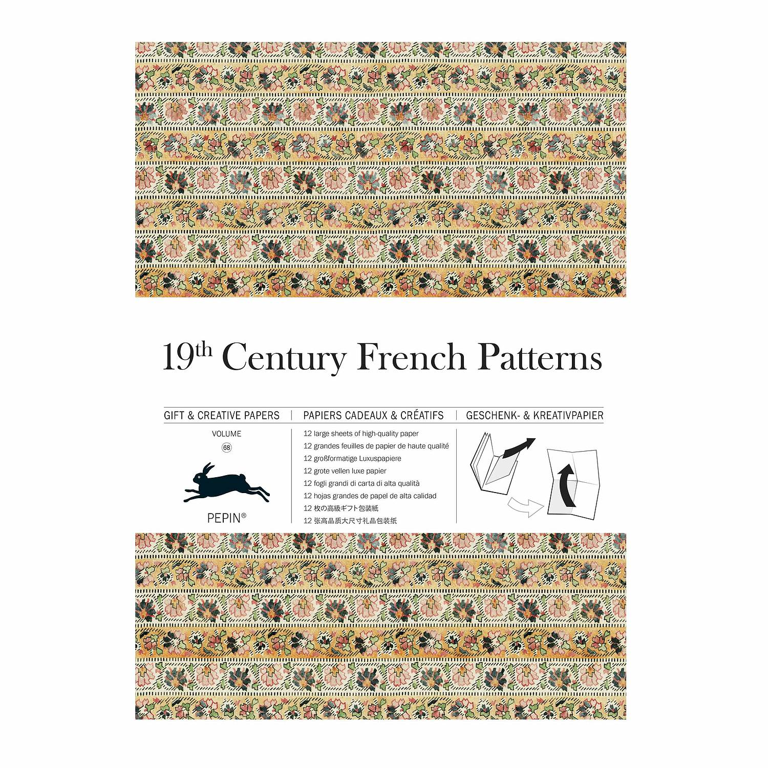 Gift Wrap Book 68 - 19th Century French Patterns - Geschenkpapier