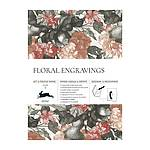 Gift wrap book 79 - Floral Engravings