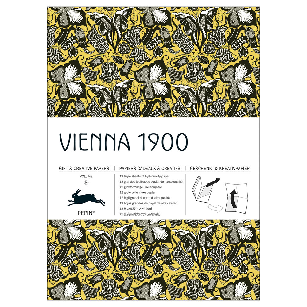 Gift Wrap Book - Vienna 1900