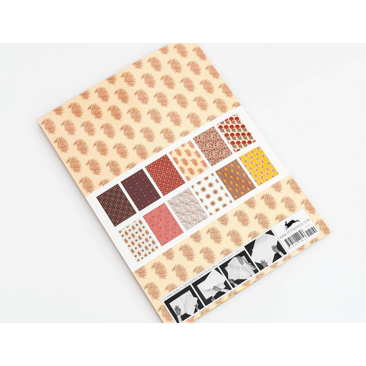 Gift Wrap Book 52 - Indian Patterns