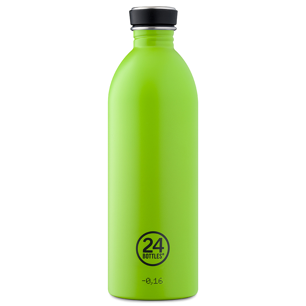 Trinkflasche (24Bottles) lime 1 l