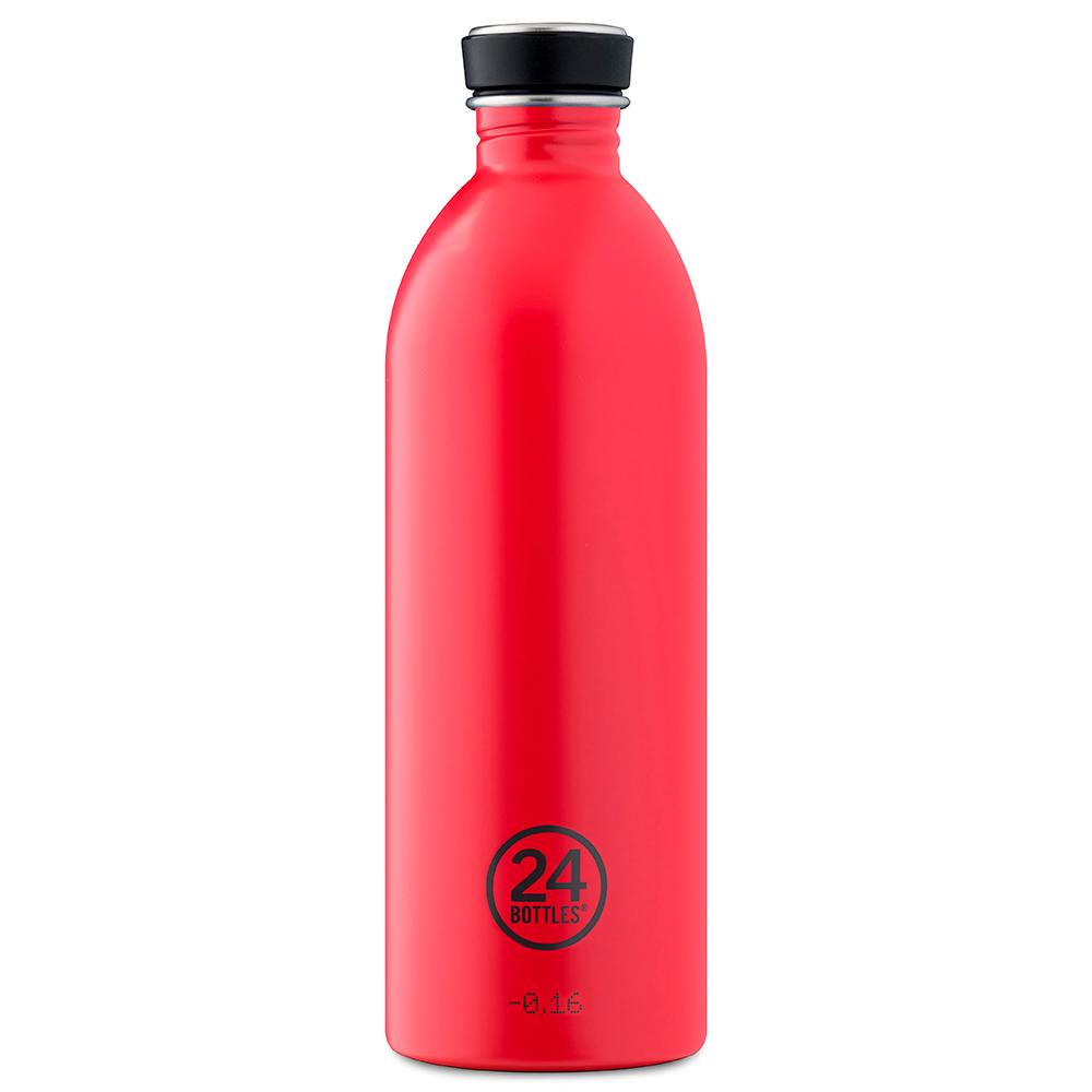 24Bottles Trinkflasche hot red 1l