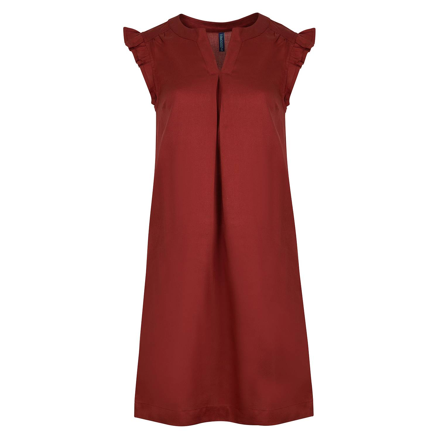 Tencel™-Kleid Salvia rumba red