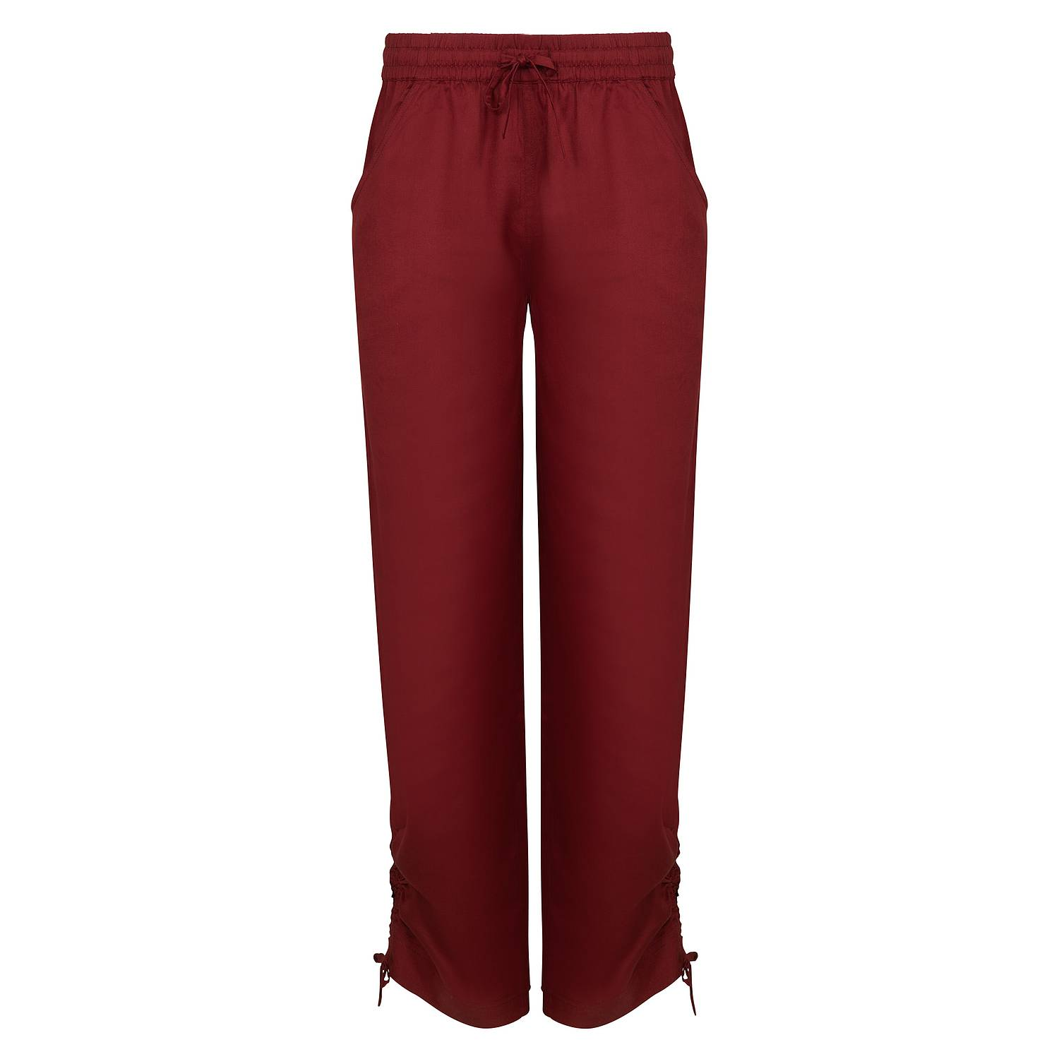Tencel™-Hose Whitney rumba red