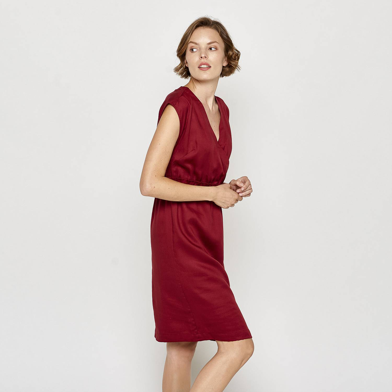 Tencel™-Kleid Louise rumba red