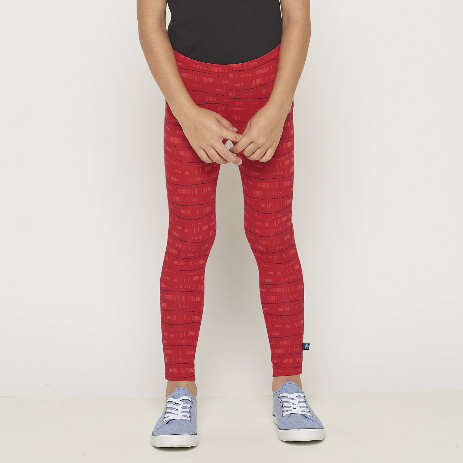 Leggings Koala waves chili