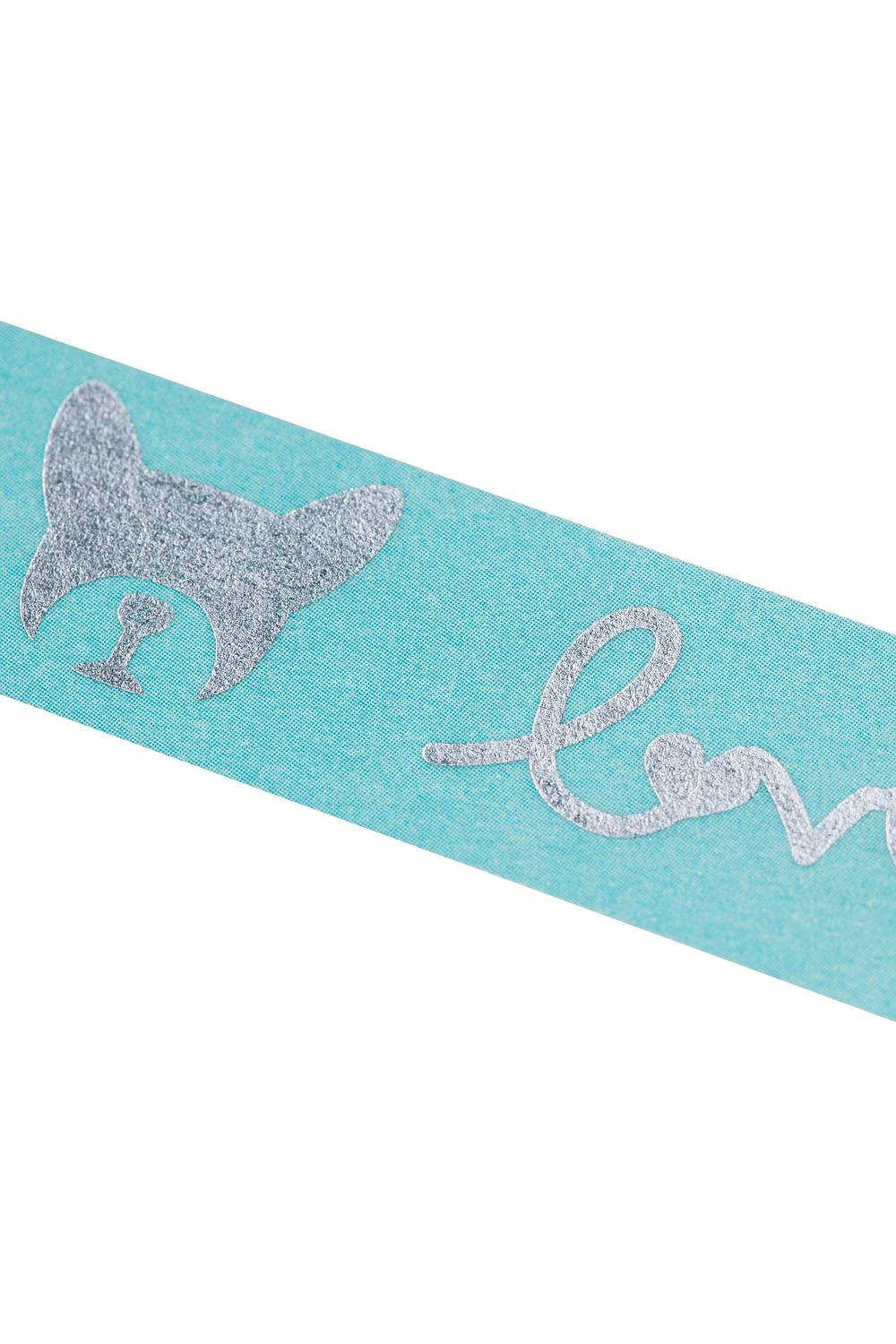 Washi Tape BULLDOG blue