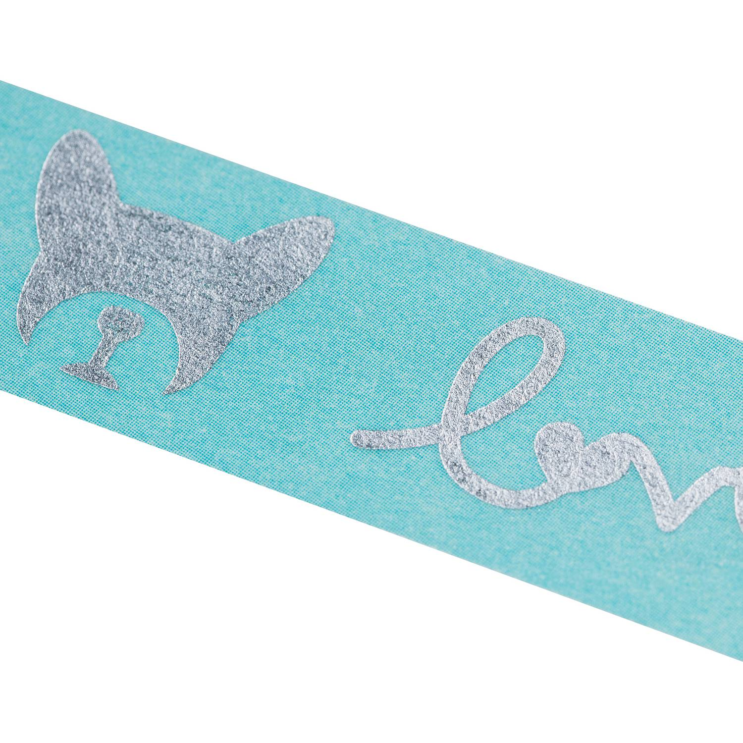 Washi Tape - Bulldogge blau