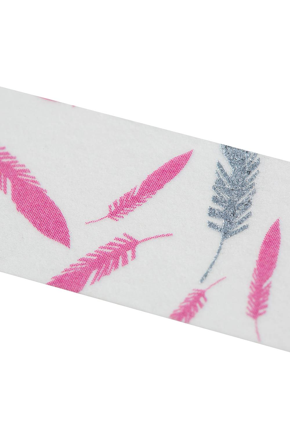 Washi Tape SILVER FEATHERS