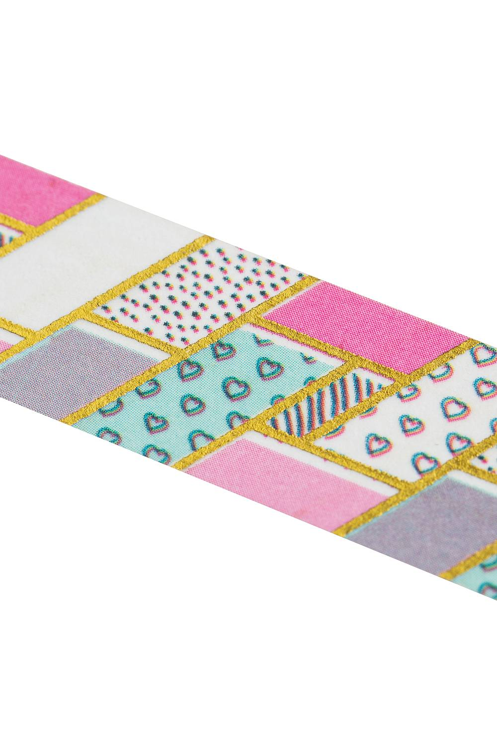 Washi Tape PATCHWORK gold