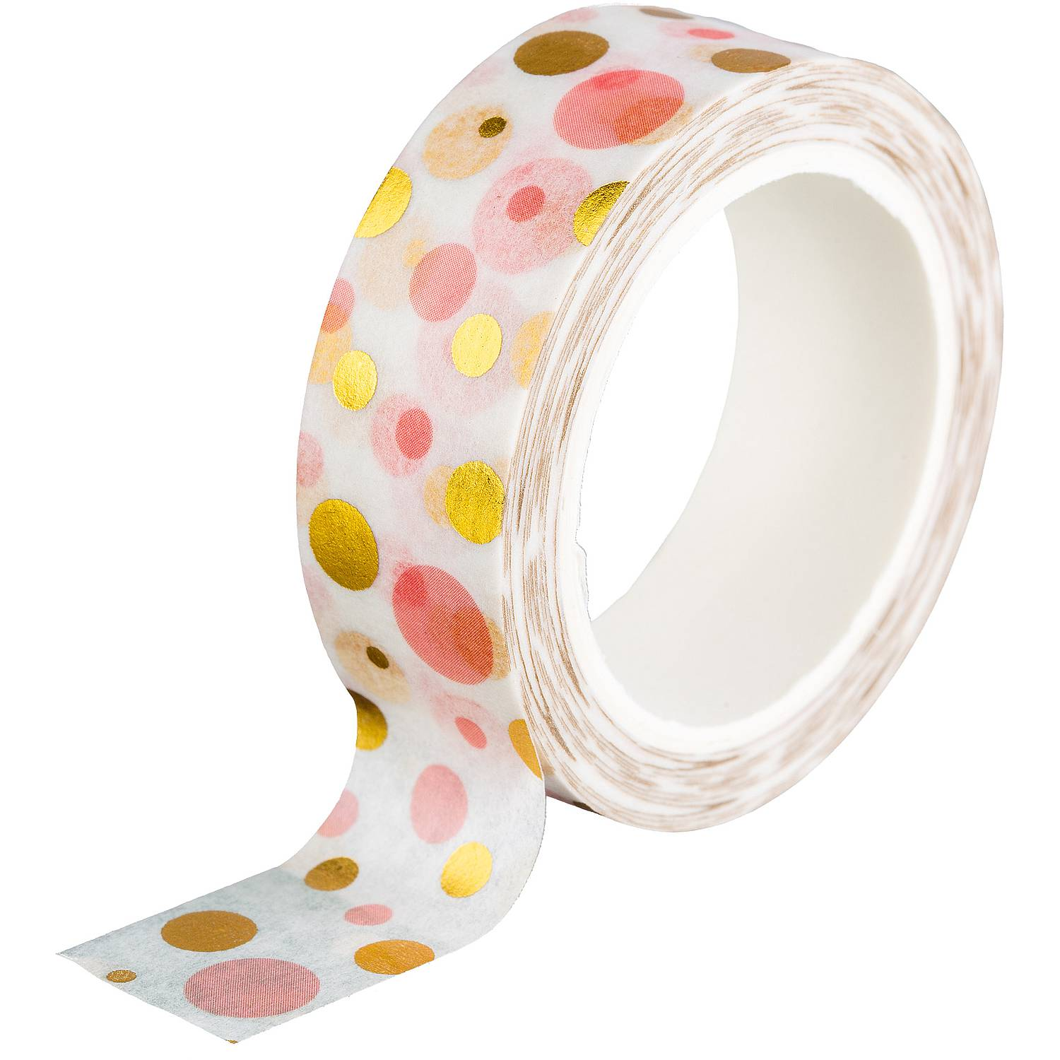 Washi Tape - Goldene Punkte