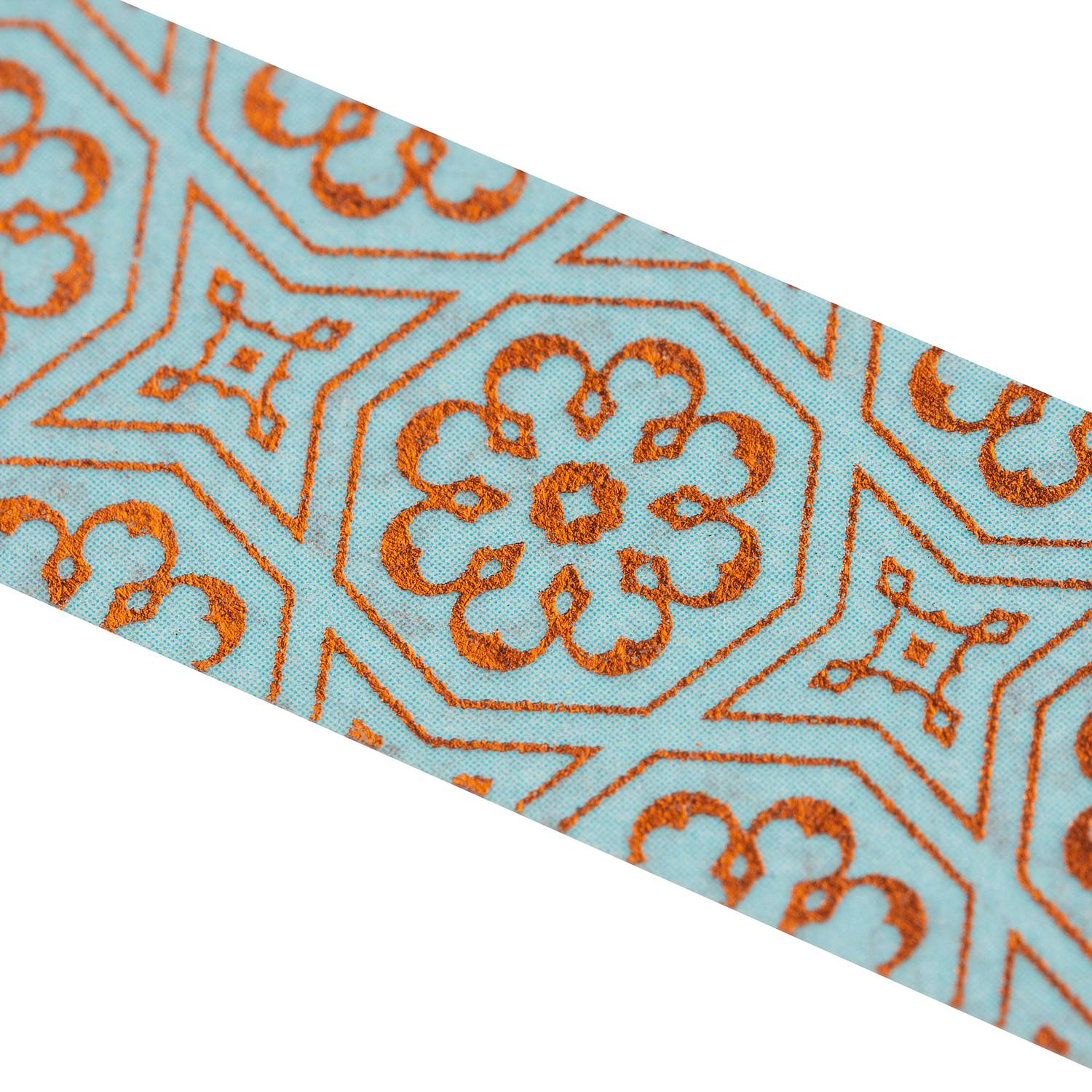 Washi Tape - Marrakech kupfer, blau