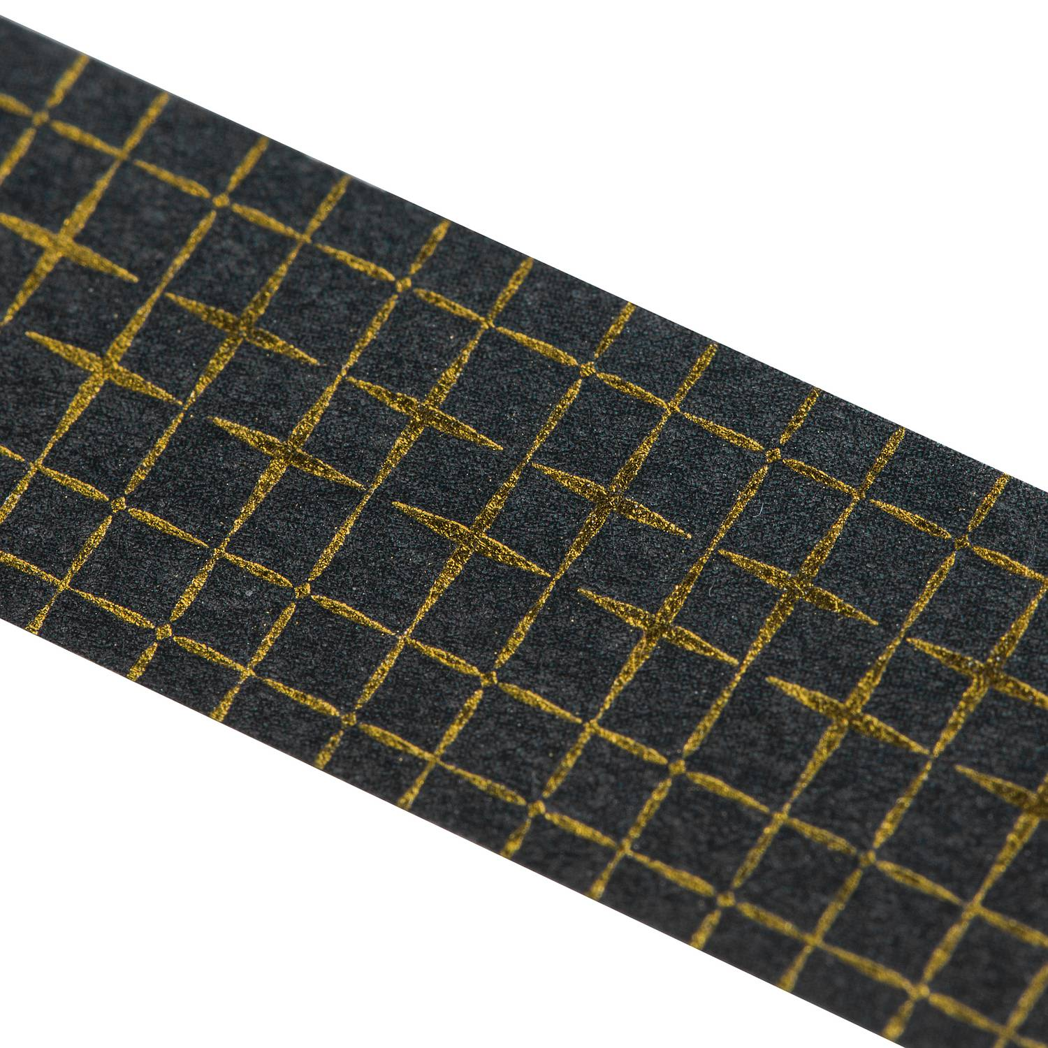Washi Tape CHECKERED gold