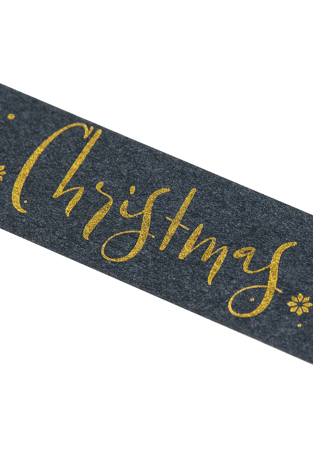 Washi Tape - Weihnachten, gold