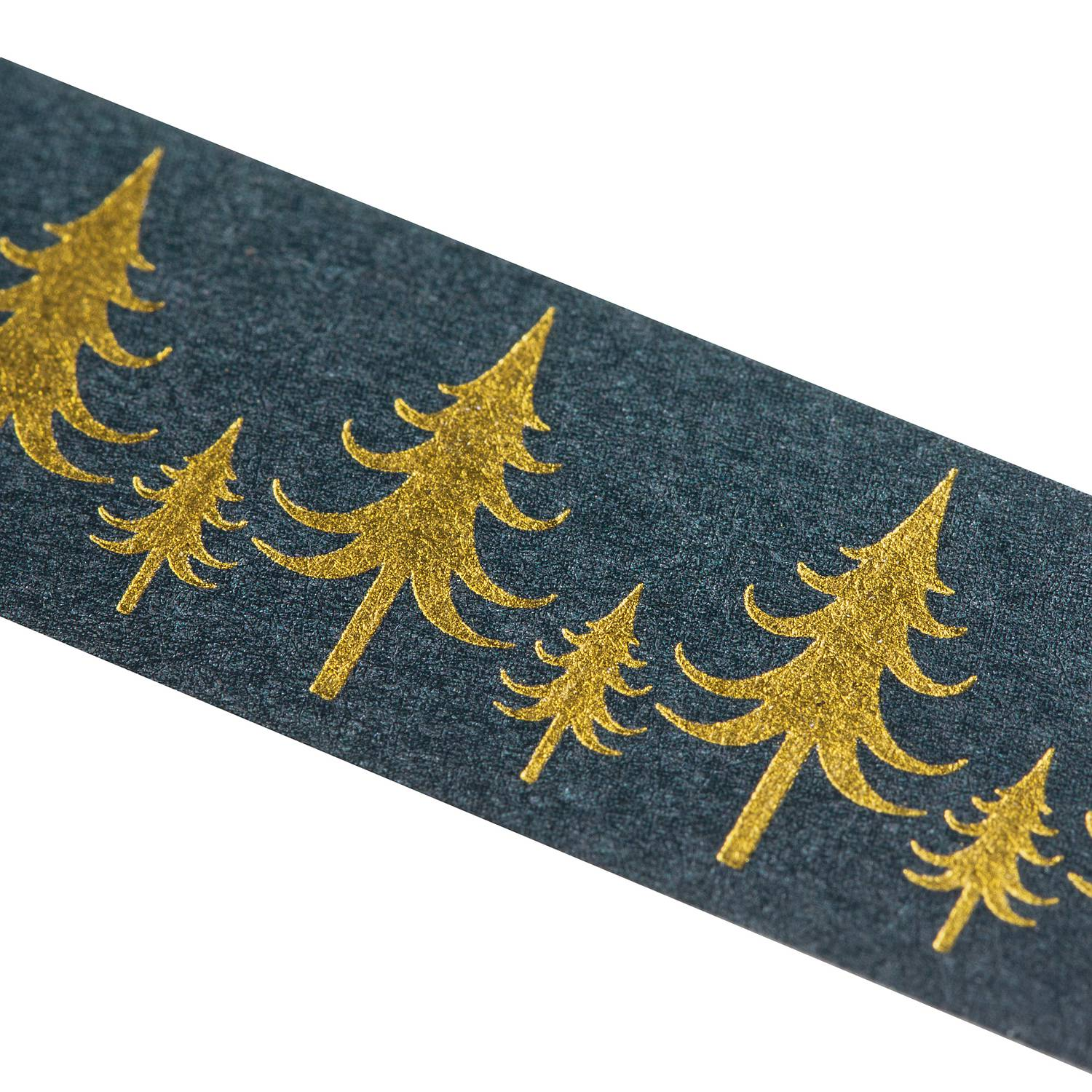 Washi Tape GOLDEN CHRISTMAS TREES