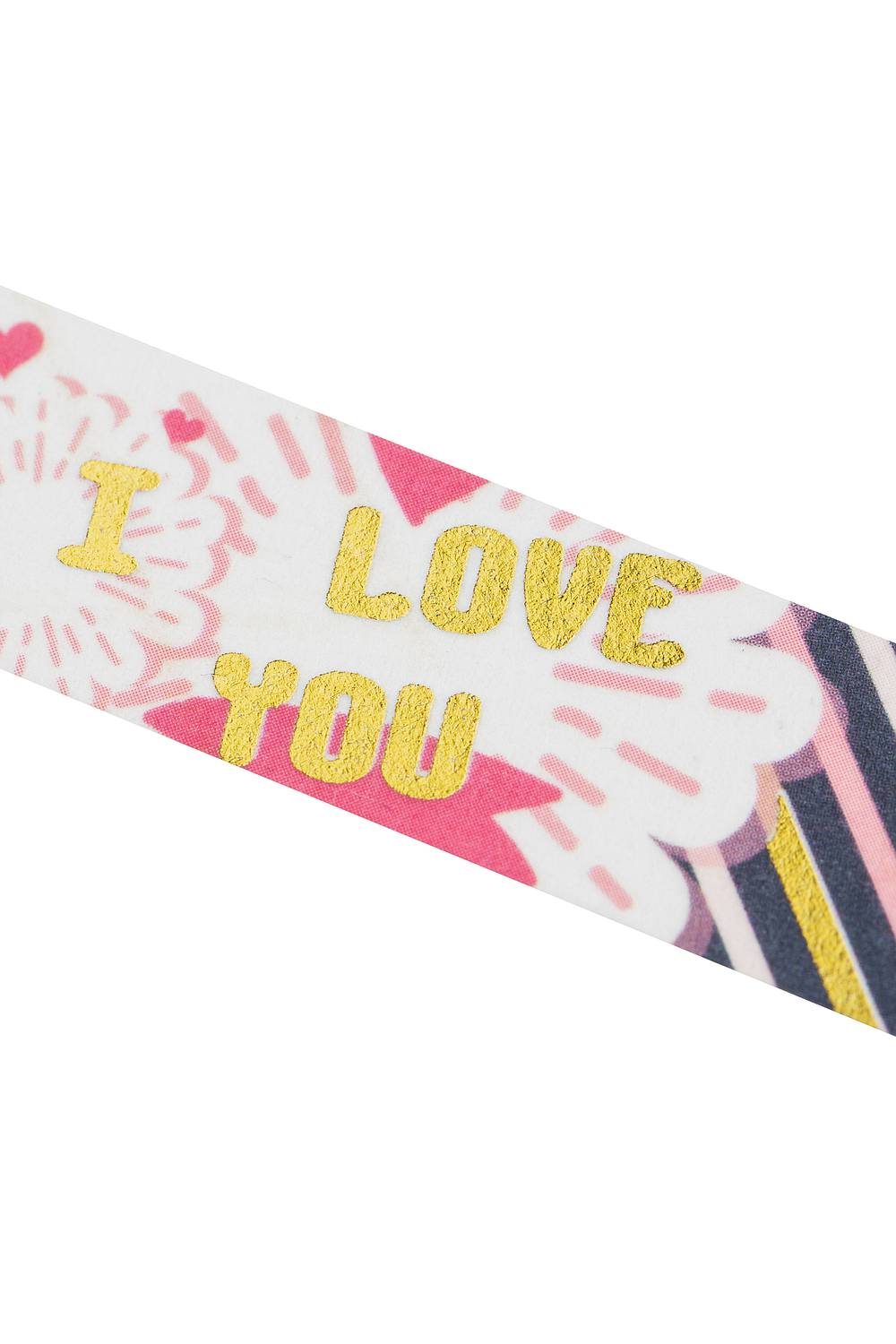 Washi Tape - I love you