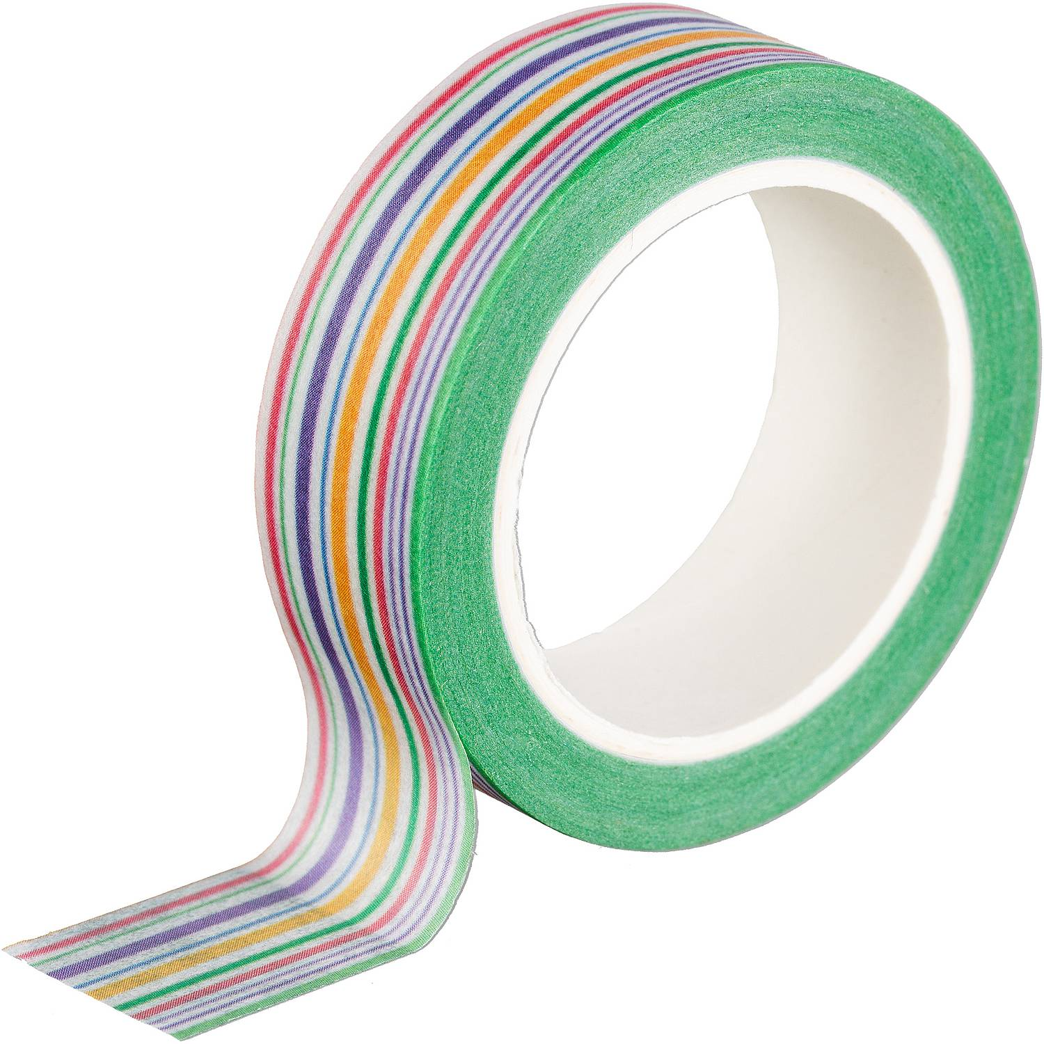 Washi Tape - Bunt gestreift