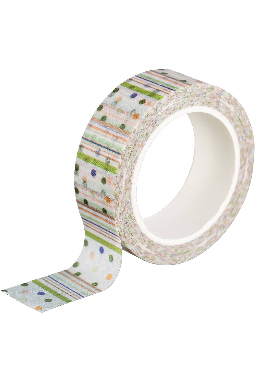 Washi Tape COLORFUL DOTS AND STRIPES