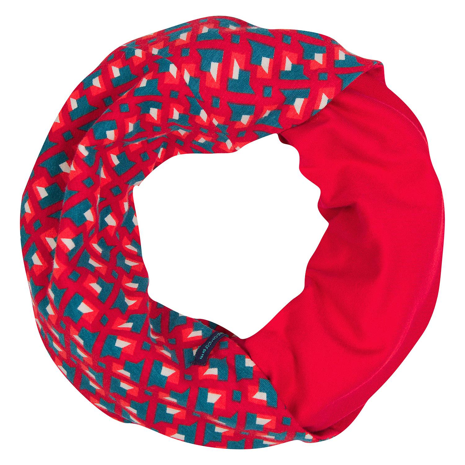 Loop scarf Devana red