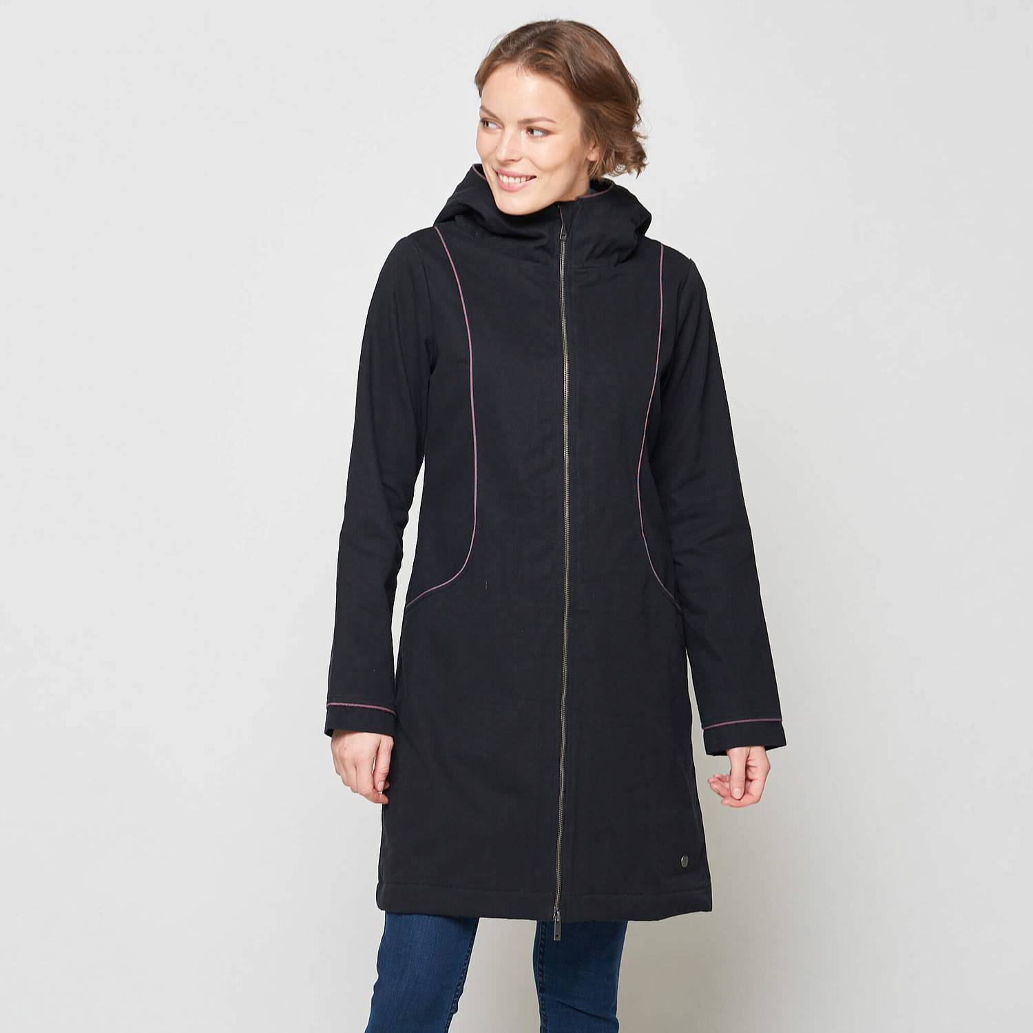 Coat  Phaet black