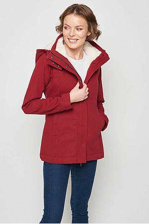 Winterjacke Tabit burgundy