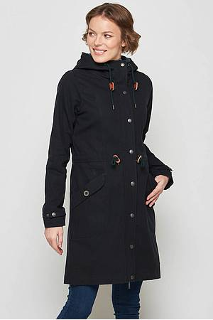 Doppelparka Polaris black