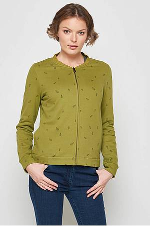 Sweatjacke Asterope green