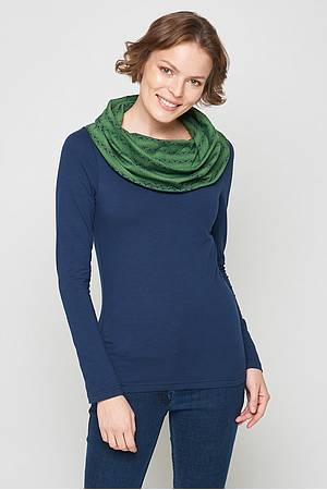 Collar sweater Caina navy