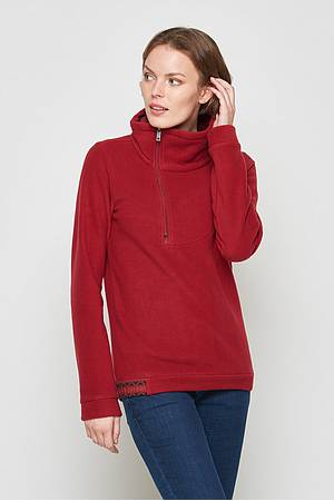 Neck sweater Subra burgundy