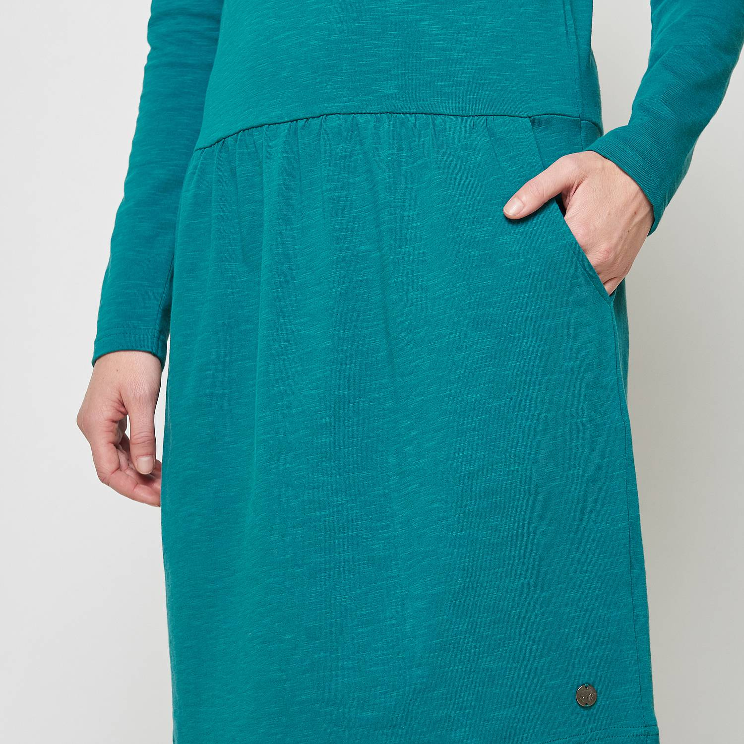 Midi dress Sarir petrol
