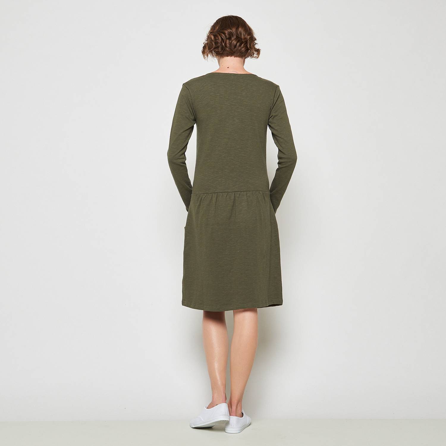 Midi dress Sarir olive
