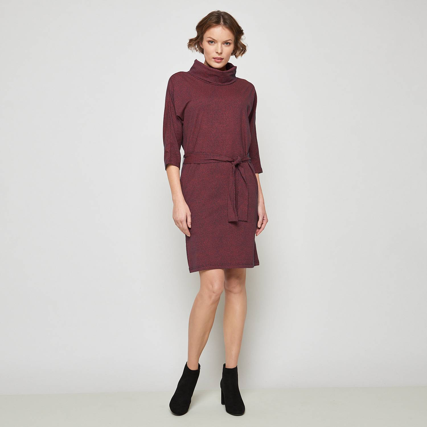 Midi dress Sirius  fire