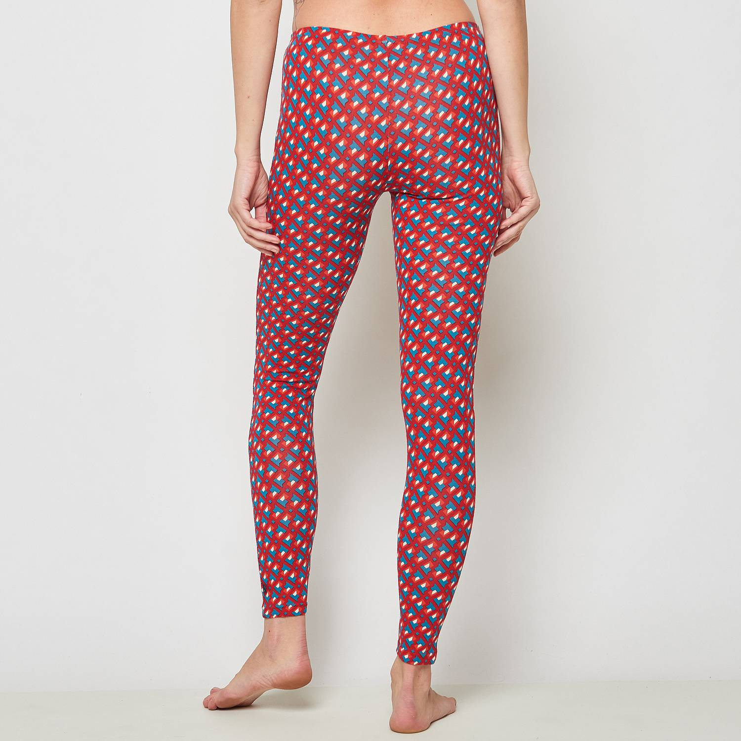 Leggings Meduna red