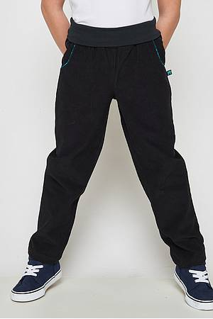 Corduroy trousers Nova black
