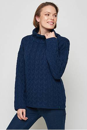 Collar sweater Kajam navy