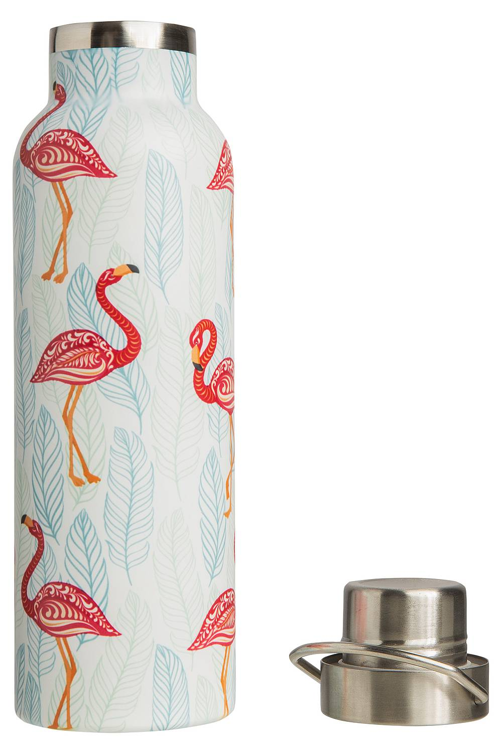 Isolierflasche PINK FLAMINGOS 600 ml