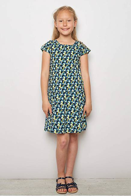Jersey Dress NEMESIA blue candy