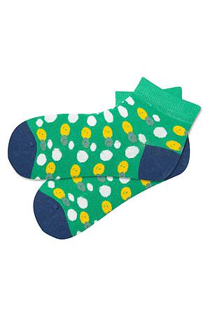 Kurzsocken PEAS green