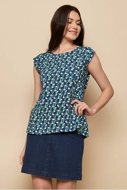 EcoVero™ Blouse ALMAZ green candy