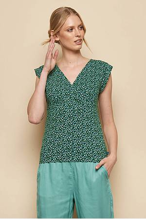 Jersey-Top »Kalisha« green peas