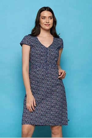Cambric dress ZOLILE red peas
