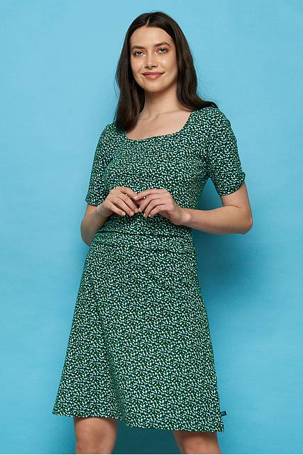 Jersey Dress YAWA green peas