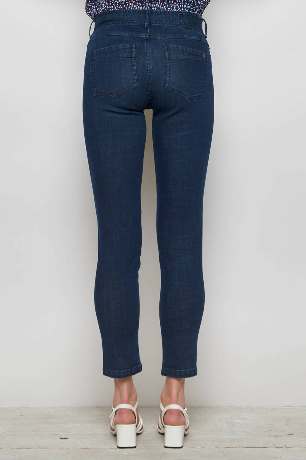 Stretch Denim Skinny Jeans MAHLIA dark indigo