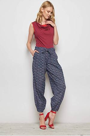 Cambric Trousers ETANA red peas