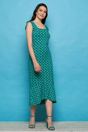 Jersey-Midikleid »Naisula« green ball