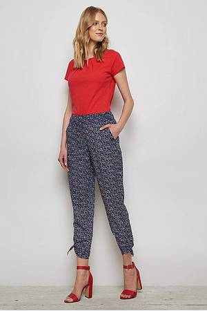 Cambric Trousers ALOISIA red peas