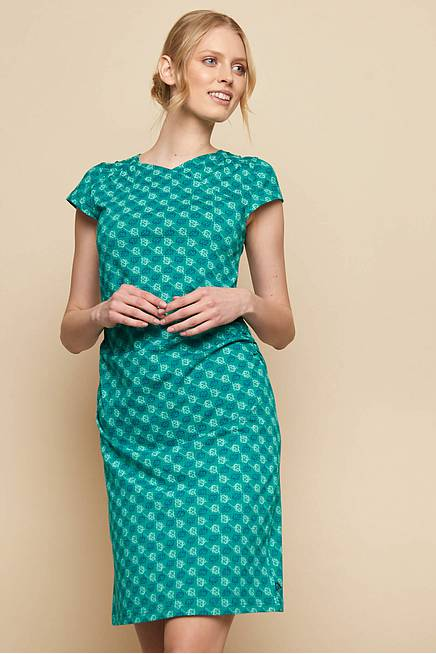 Jersey Kleid TUMELO green ball