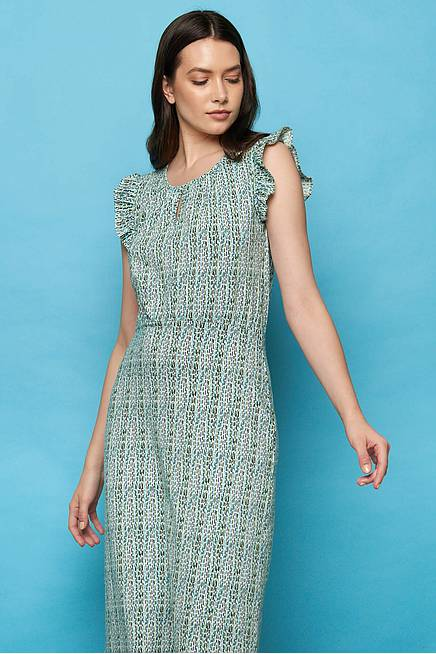 Jersey Midikleid FIMANE green highway