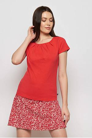 Slub jersey shirt FALLOU red